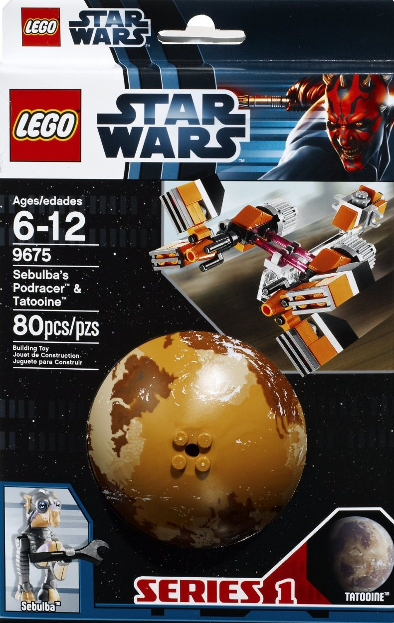 LEGO Star Wars Sebulba's Podracer & Tatooine 9675