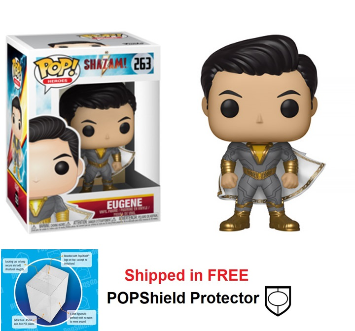 Funko POP DC Comics Shazam Movie Eugene Figure - #263