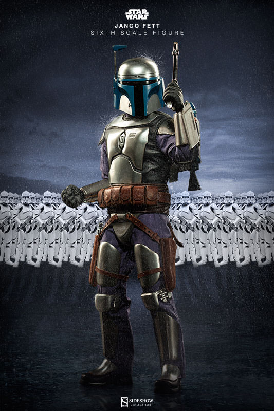 Sideshow Star Wars Jango Fett Sixth Scale Figure