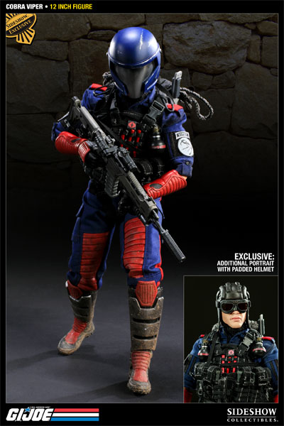Sideshow GI Joe Cobra Viper 1:6 Scale Figure - Exclusive Edition