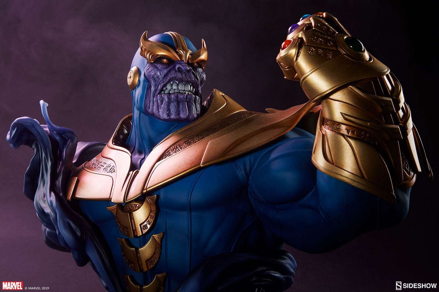 Pre-Order Sideshow Marvel Thanos Bust