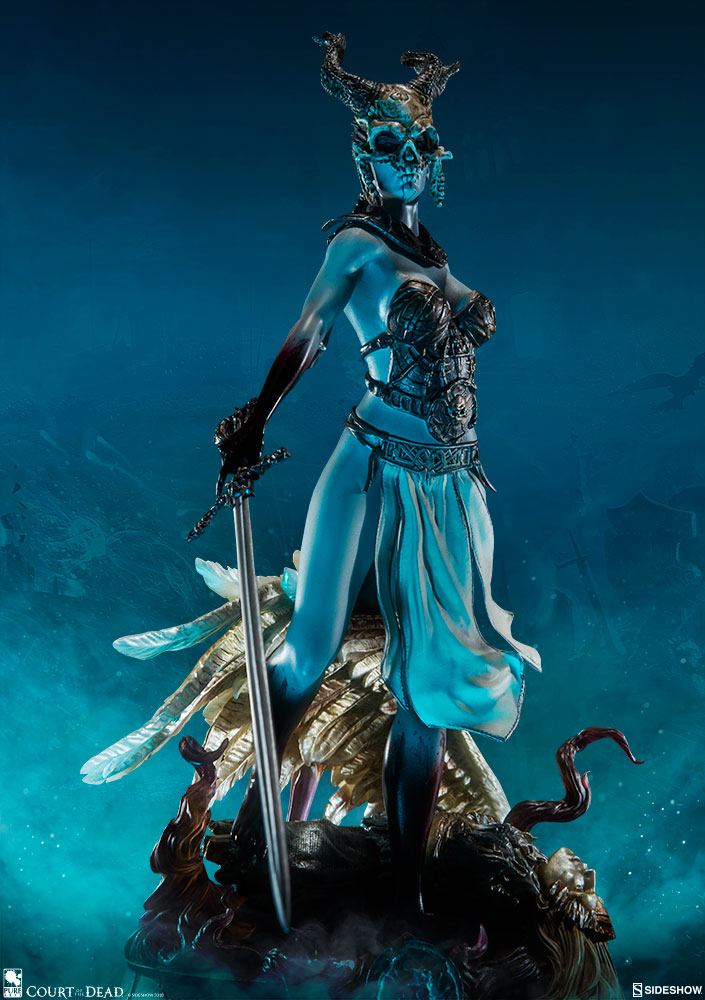 Pre-Order Sideshow Court of the Dead Kier Valkyrie Statuette