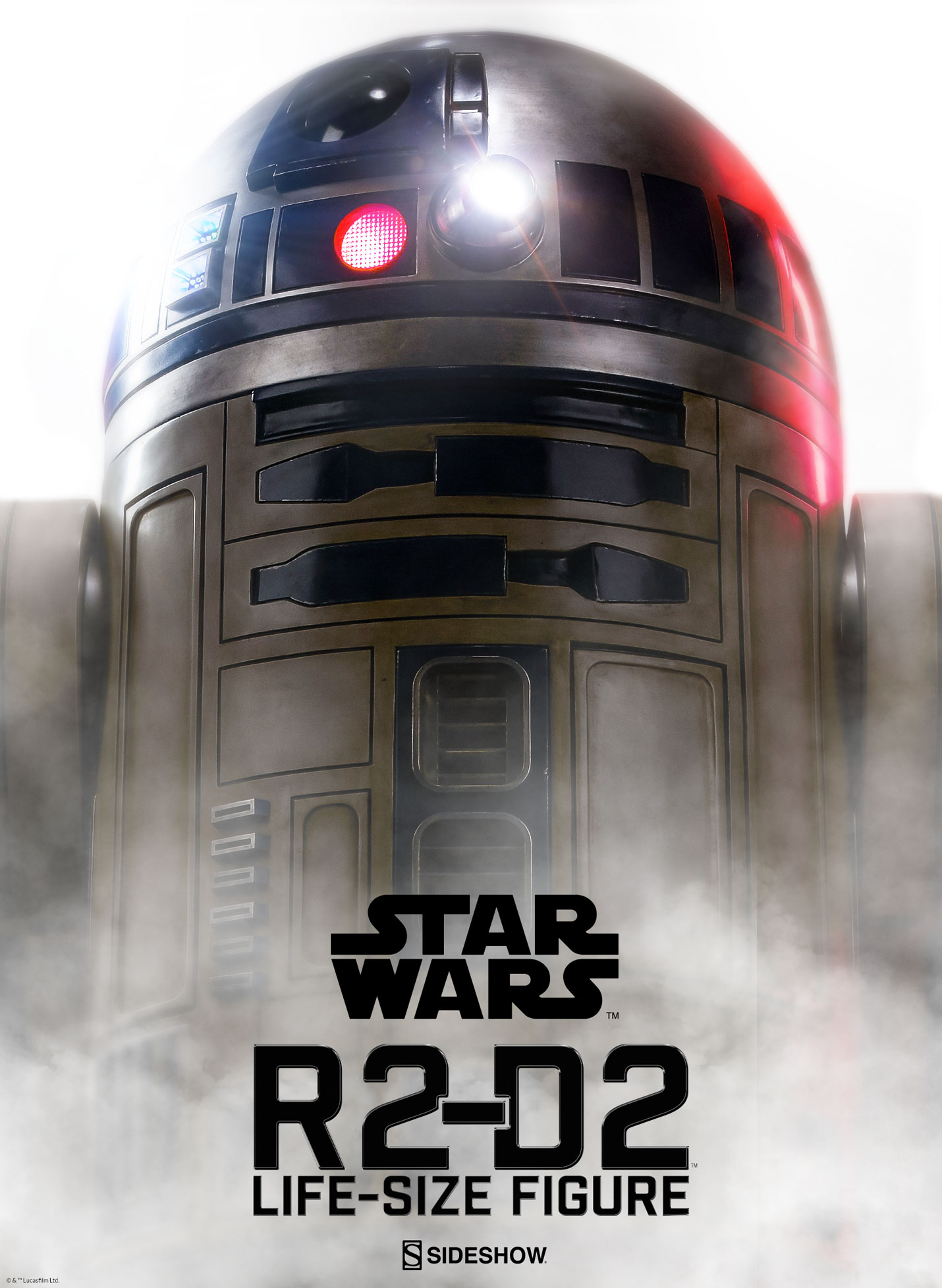 Sideshow Star Wars R2-D2 Life Size Figure