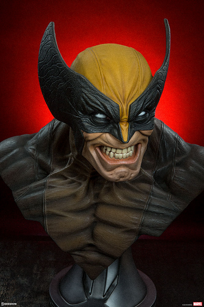 Pre-Order Sideshow Marvel Wolverine Life Size Bust