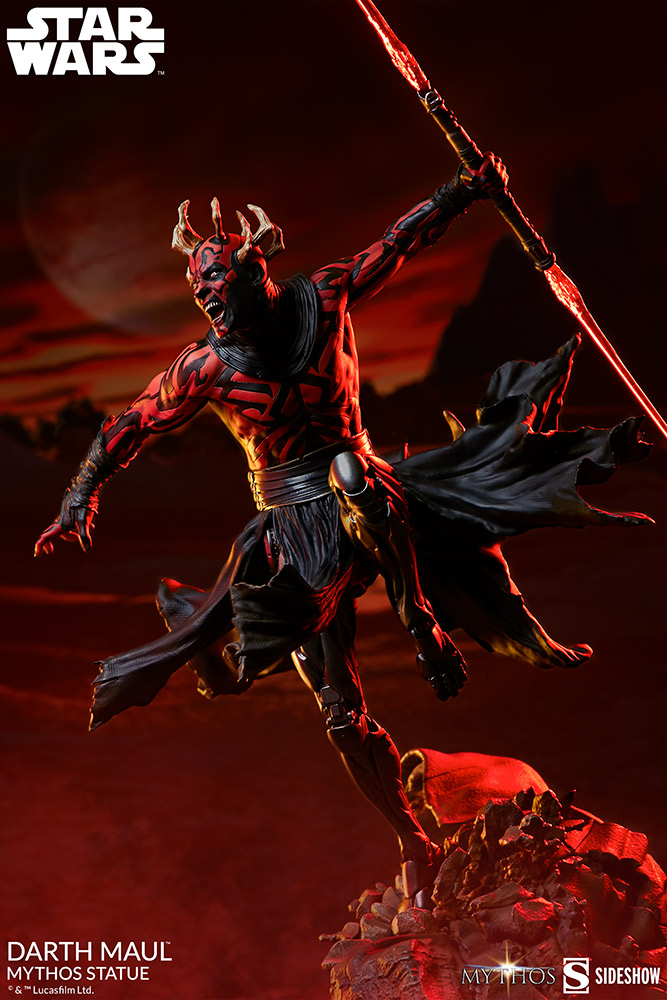 Pre-Order Sideshow Star Wars Darth Maul Mythos Statue