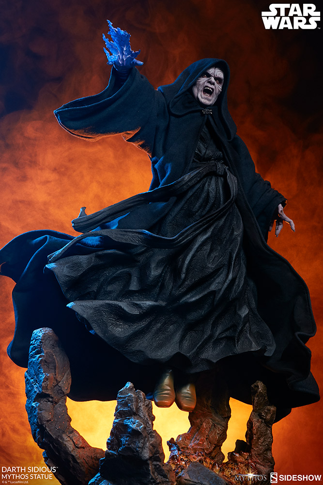 Pre-Order Sideshow Star Wars Darth Sidious Mythos Statue