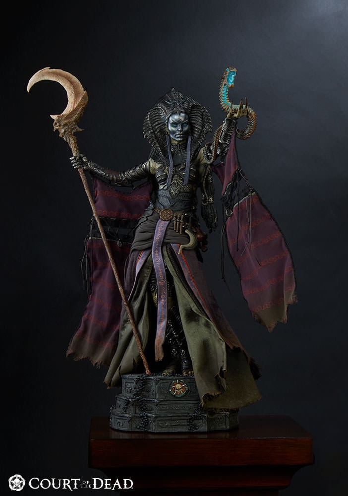 Sideshow Court of the Dead Cleopsis Eater of the Dead PF