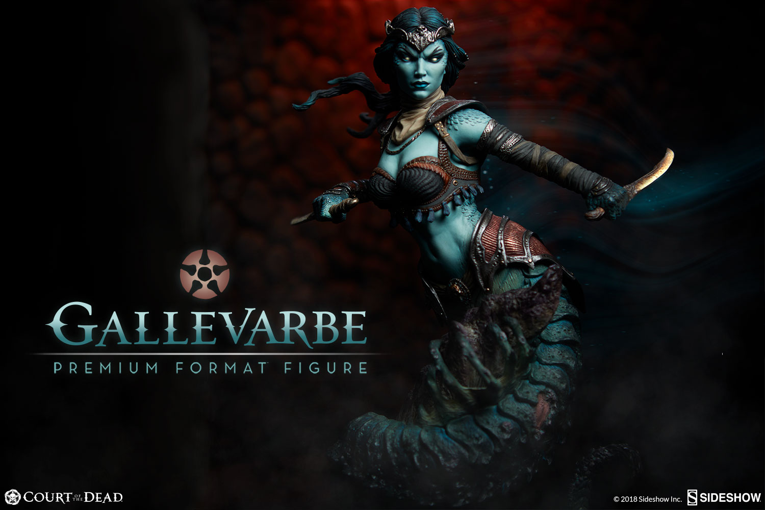 Pre-Order Sideshow Court of the Dead Gallevarbe Eyes of Queen
