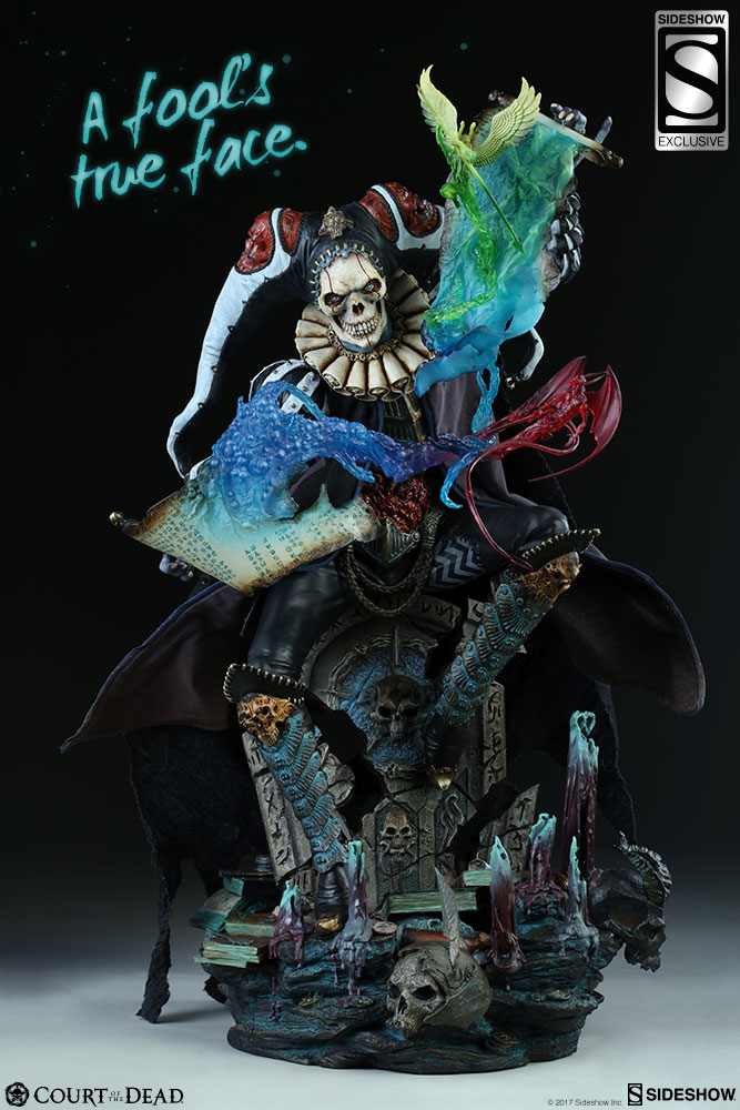 Sideshow Court of the Dead Malavestros Exclusive Statue