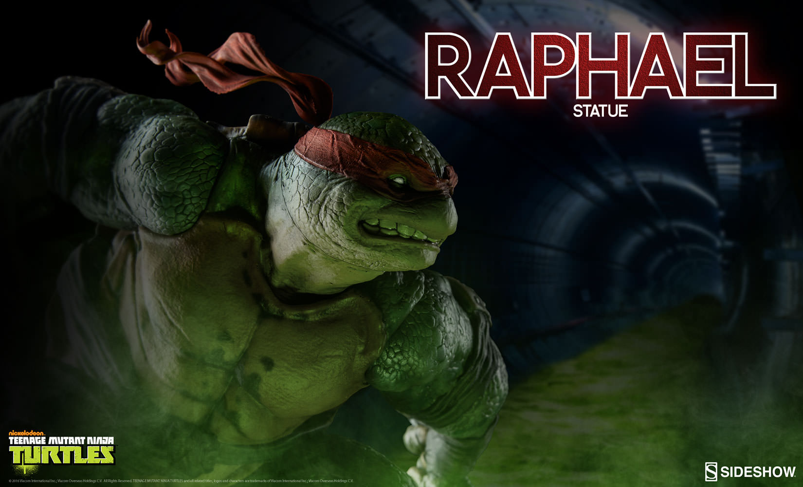 Sideshow Teenage Mutant Ninja Turtles (TMNT) Raphael Statue