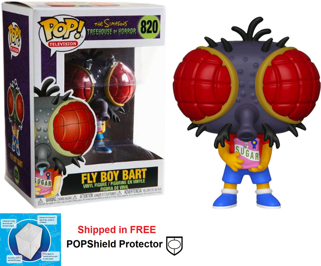 Funko POP Simpsons Fly Boy Bart - #820