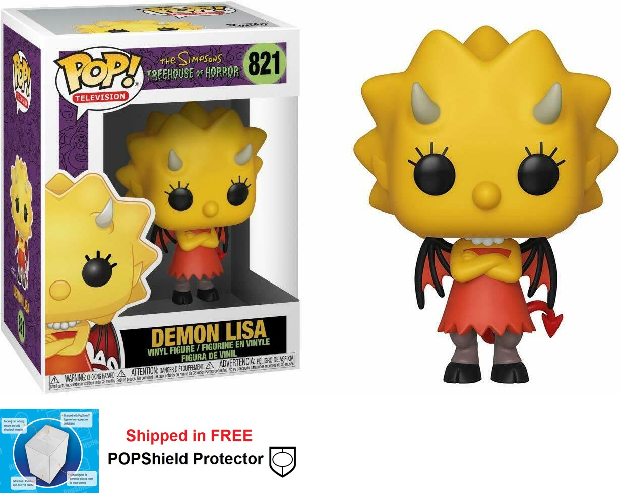 Funko POP Simpsons Demon Lisa - #821
