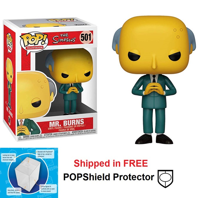 Funko POP Simpsons Mr. Burns - #501