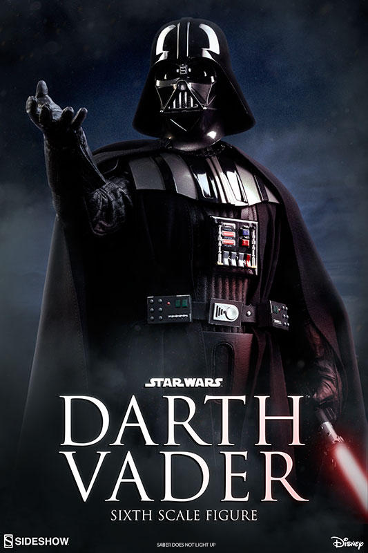 Sideshow Star Wars Darth Vader RotJ Sixth Scale Figure