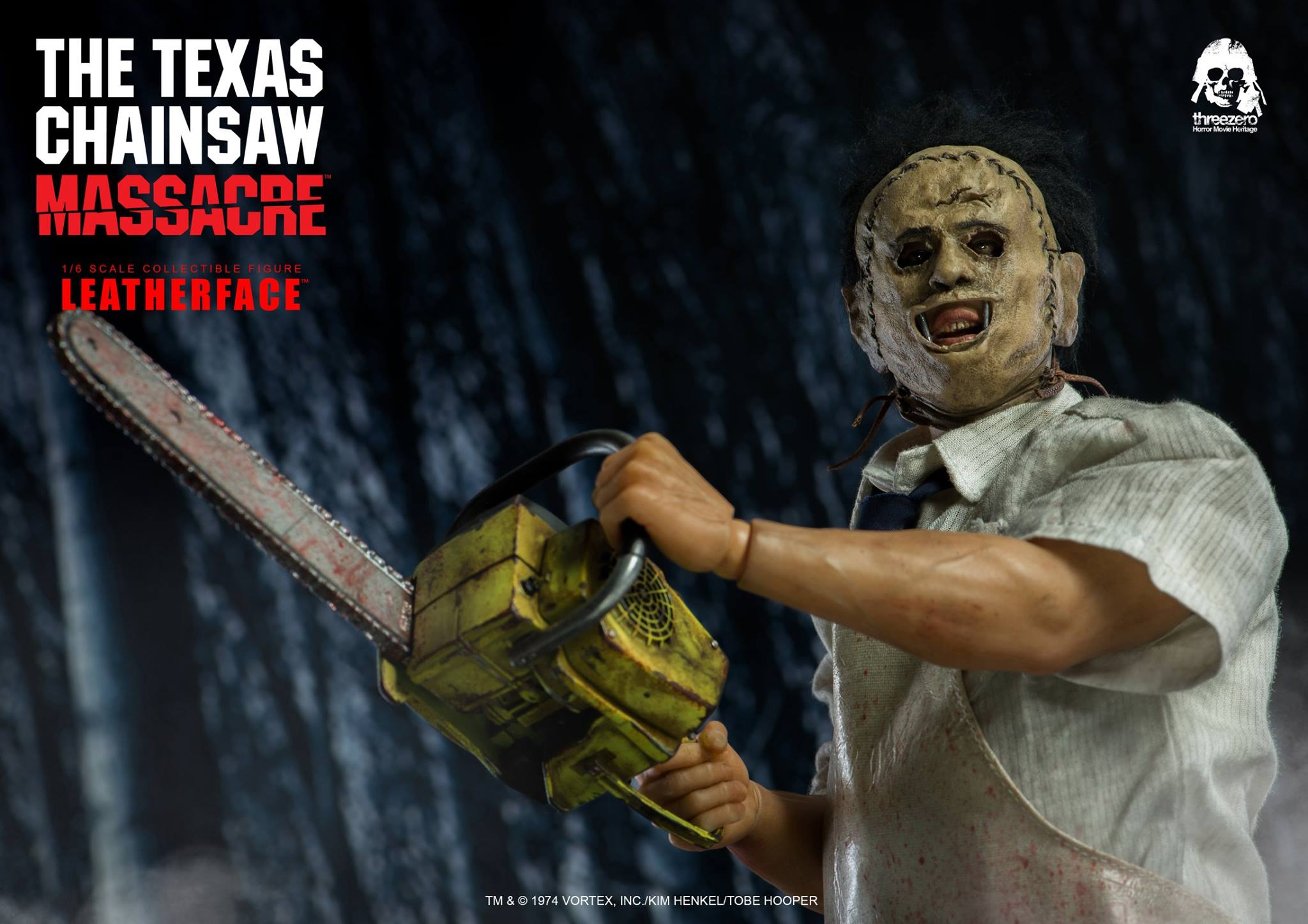ThreeZero Texas Chainsaw Massacre Leatherface Sixth Scale Figure