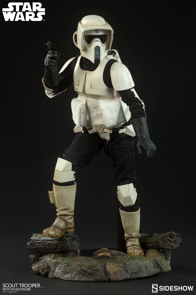 Pre-Order Sideshow Star Wars Scout Trooper Sixth Scale Figure