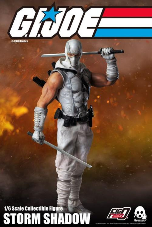 Pre-Order ThreeZero GI Joe Storm Shadow Sixth Scale Figure