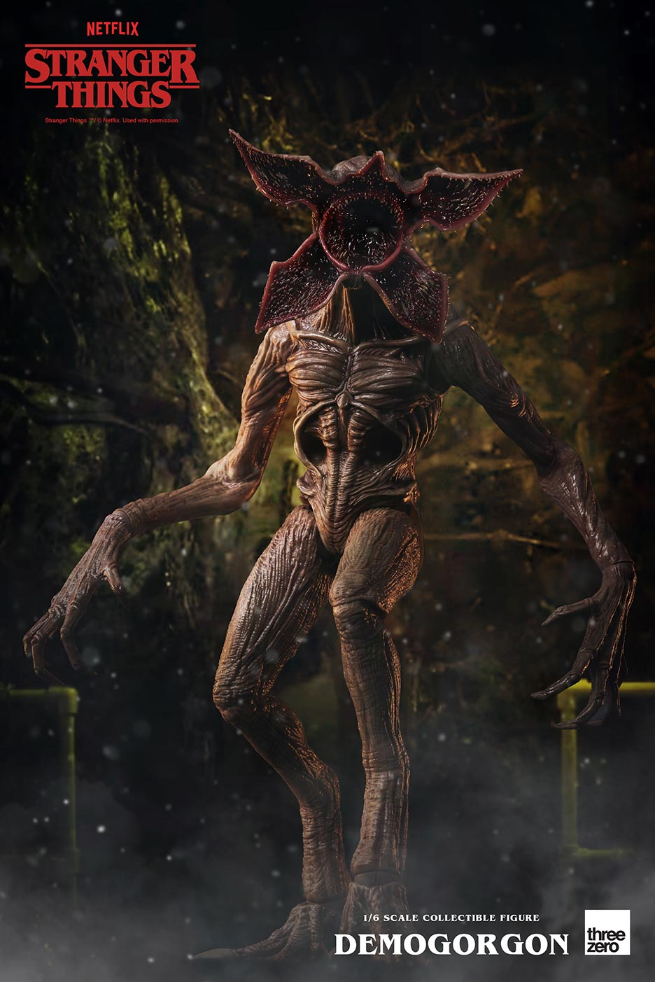 Pre-Order ThreeZero Stranger Things Demogorgon 1/6 Scale Figure