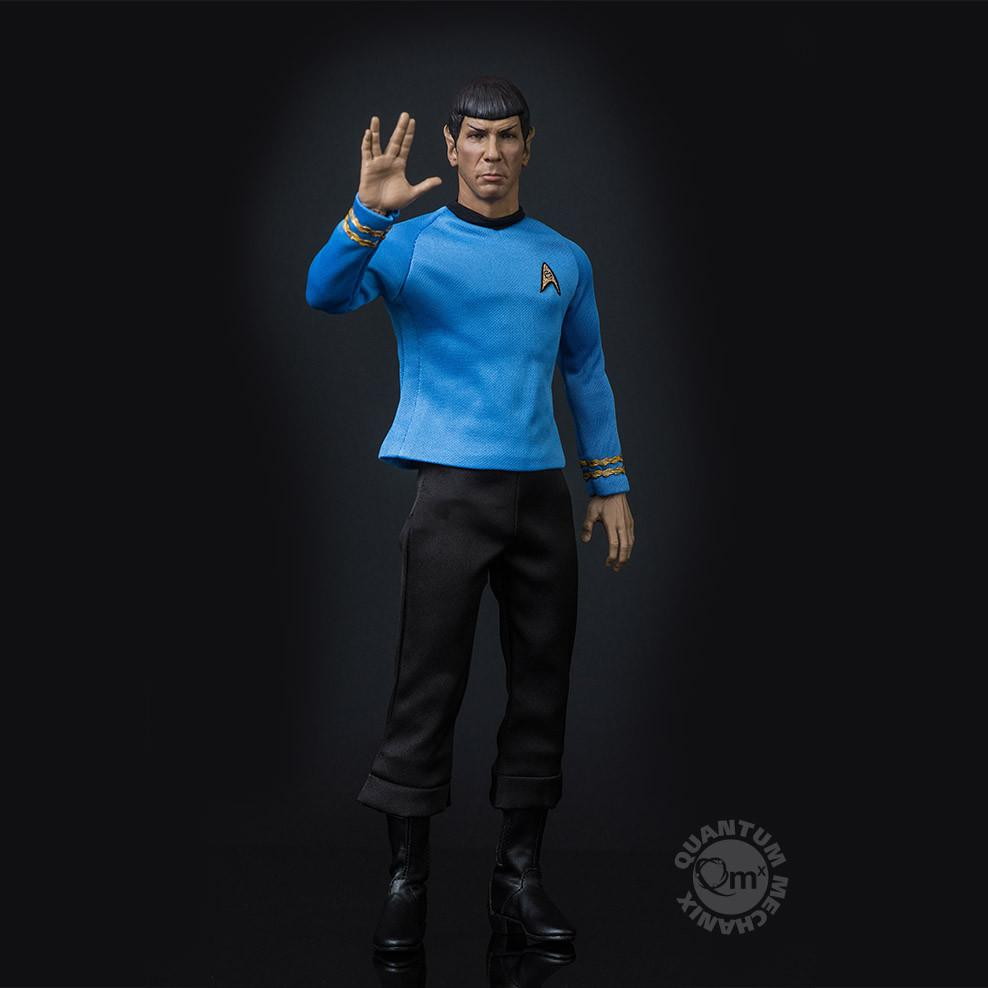 Quantum Mechanix Star Trek Mr. Spock Sixth Scale Figure