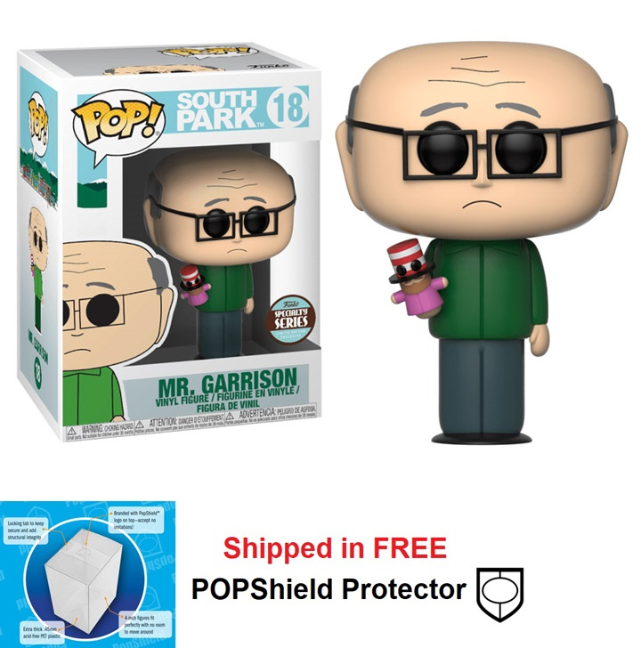 Funko POP TV South Park Mr. Garrison Figure #18 Specialty Series
