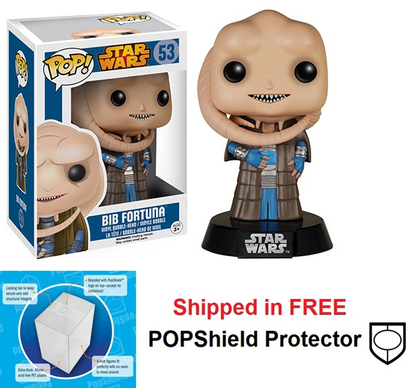 Funko POP Star Wars Bib Fortuna Figure - #53