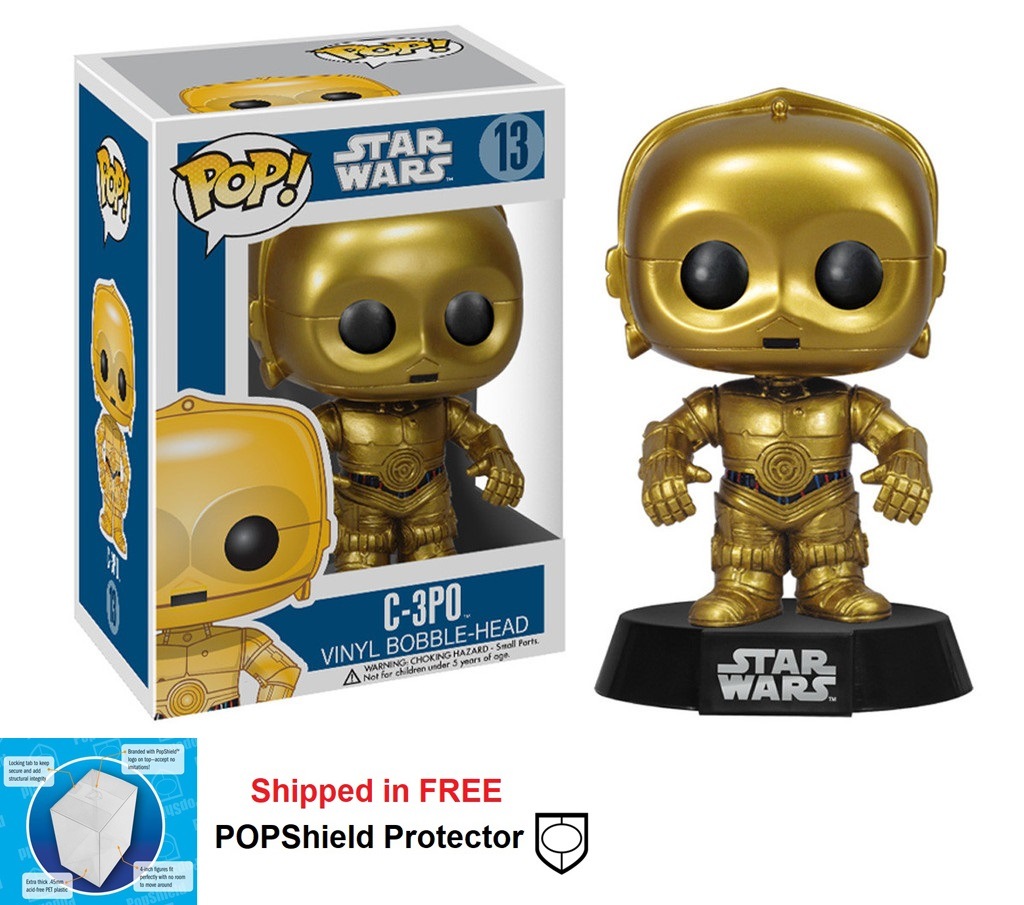 Funko POP Star Wars C-3PO Figure - #13