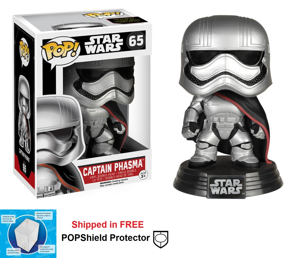 Funko POP Star Wars Captain Phasma Figure - #65