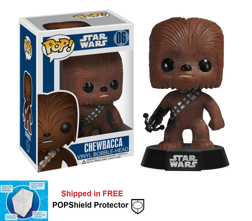 Funko POP Star Wars Chewbacca Figure - #06