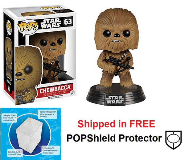 Funko POP Star Wars Chewbacca Episode VII Figure - #63