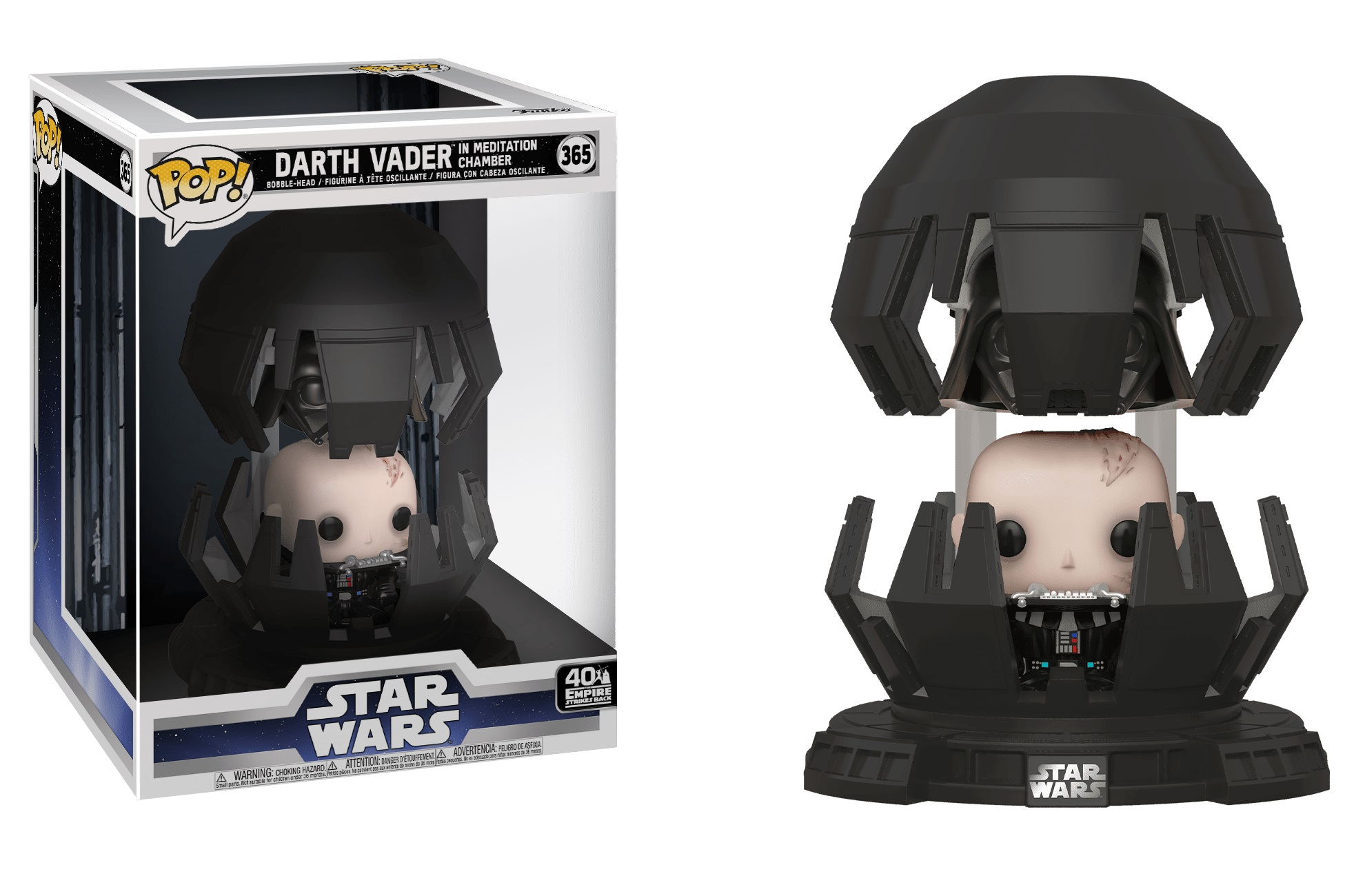 Funko POP Star Wars Darth Vader Meditation Chamber DLX - #365