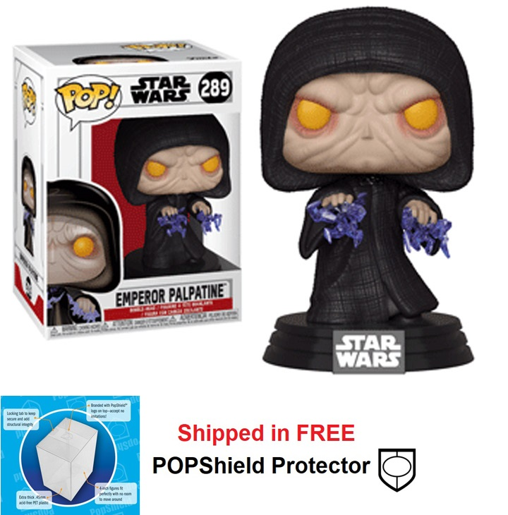 Funko POP Star Wars Emperor Palpatine Figure - #289