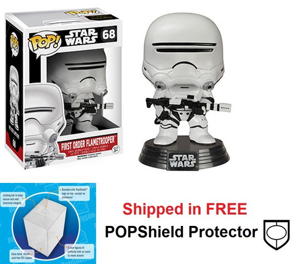 Funko POP Star Wars First Order Flametrooper Figure - #68