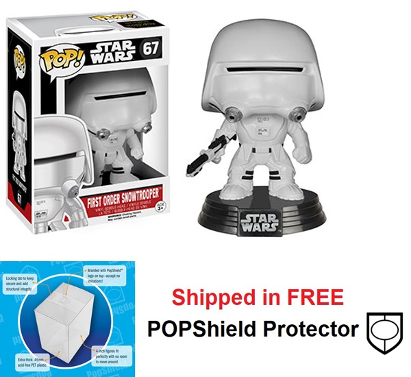 Funko POP Star Wars First Order Snowtrooper Figure - #67