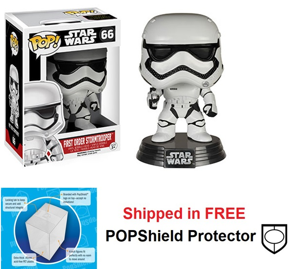 Funko POP Star Wars First Order Stormtrooper Figure - #66