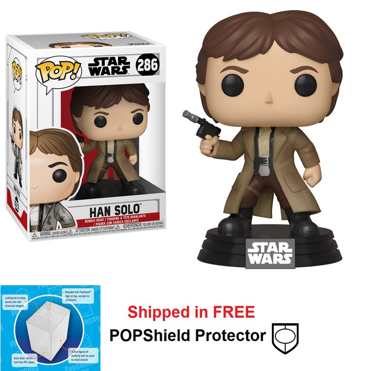 Funko POP Star Wars Han Solo Figure - #286
