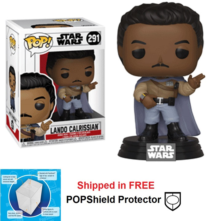 Funko POP Star Wars Lando Calrissian Figure - #291