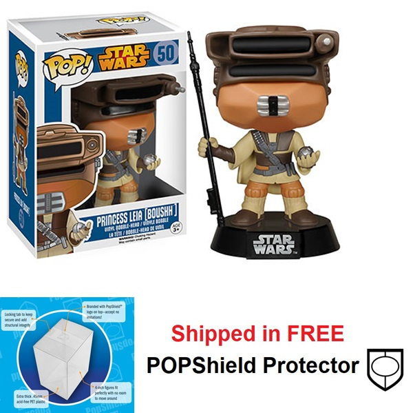 Funko POP Star Wars Princess Leia Boushh Figure - #50