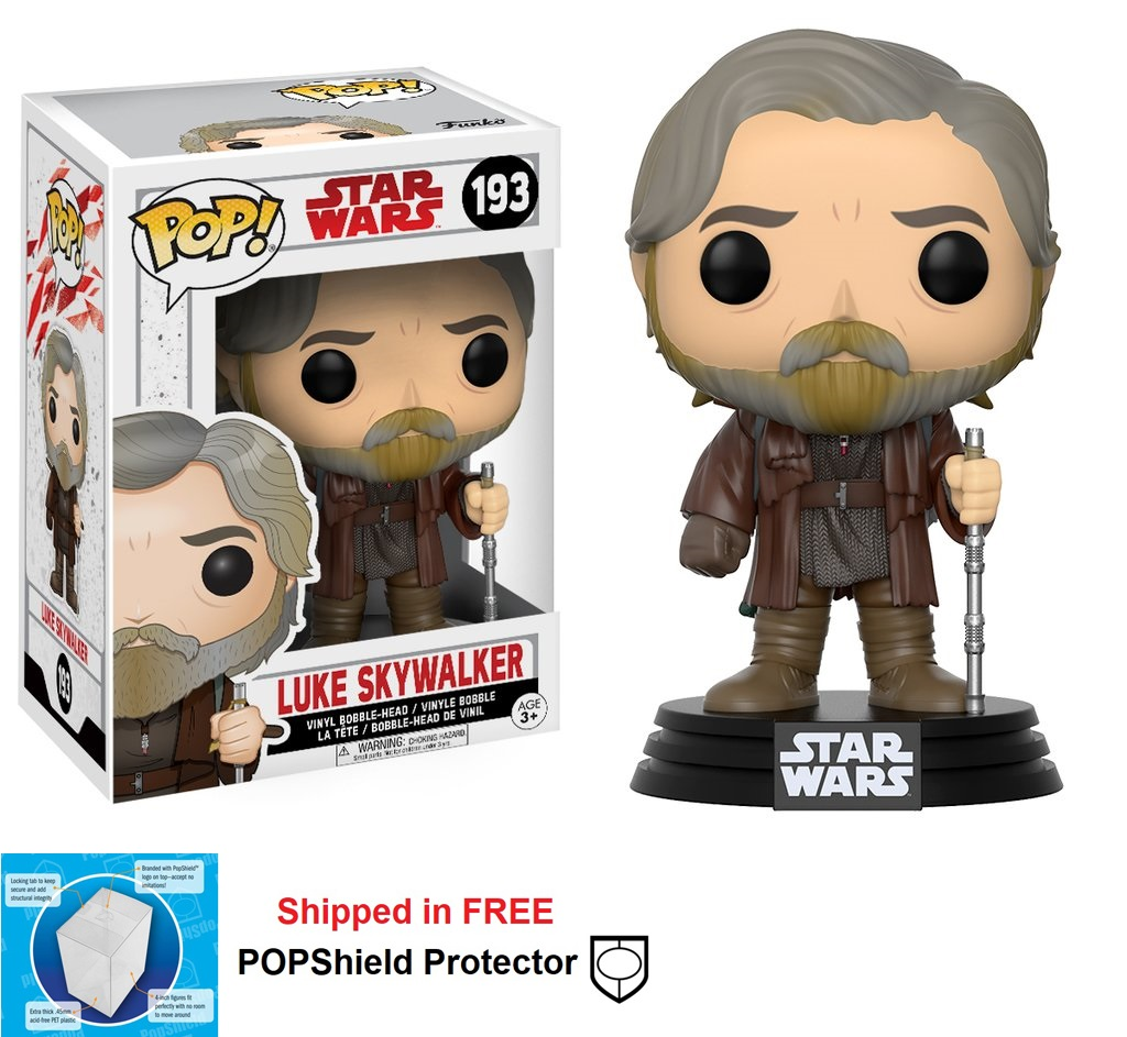 Funko POP Star Wars Luke Skywalker Figure - #193