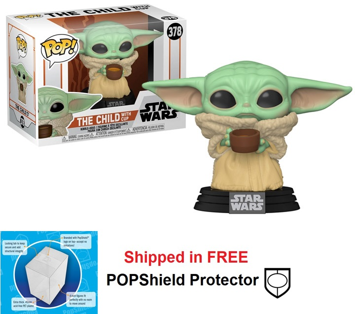 Funko POP Star Wars Mandalorian The Child with cup - #378