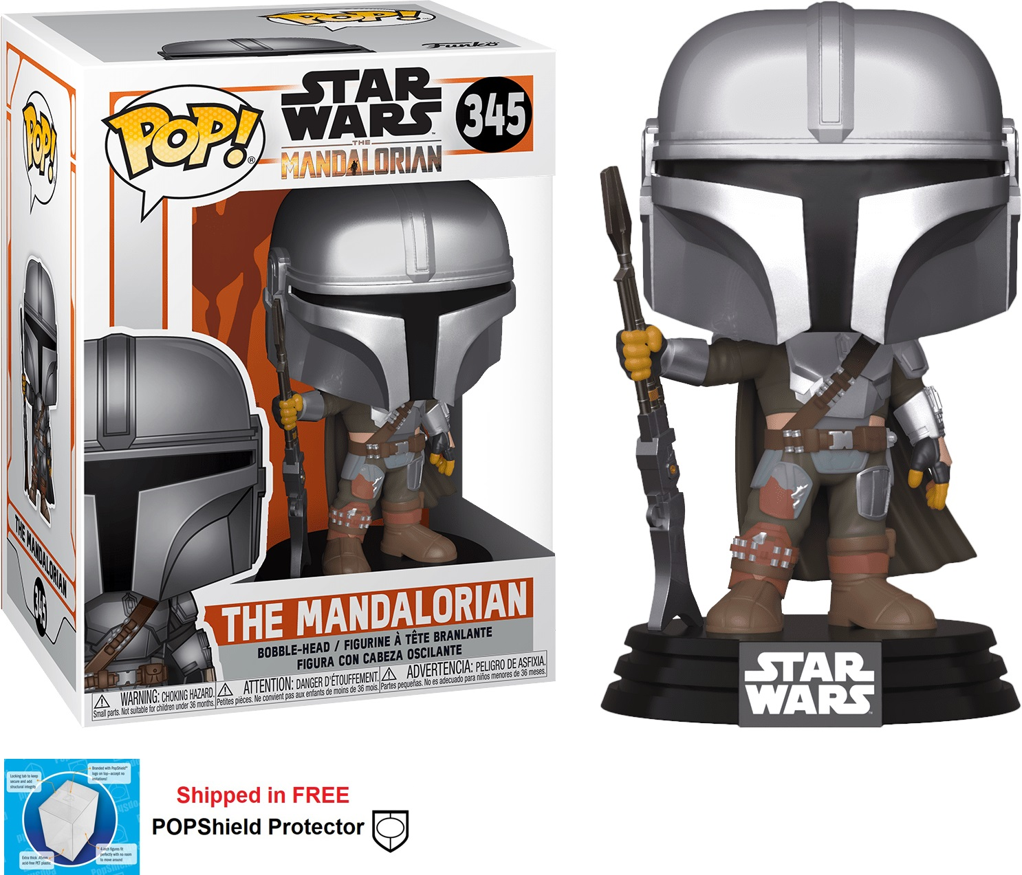 Funko POP Star Wars Mandalorian Figure - #345