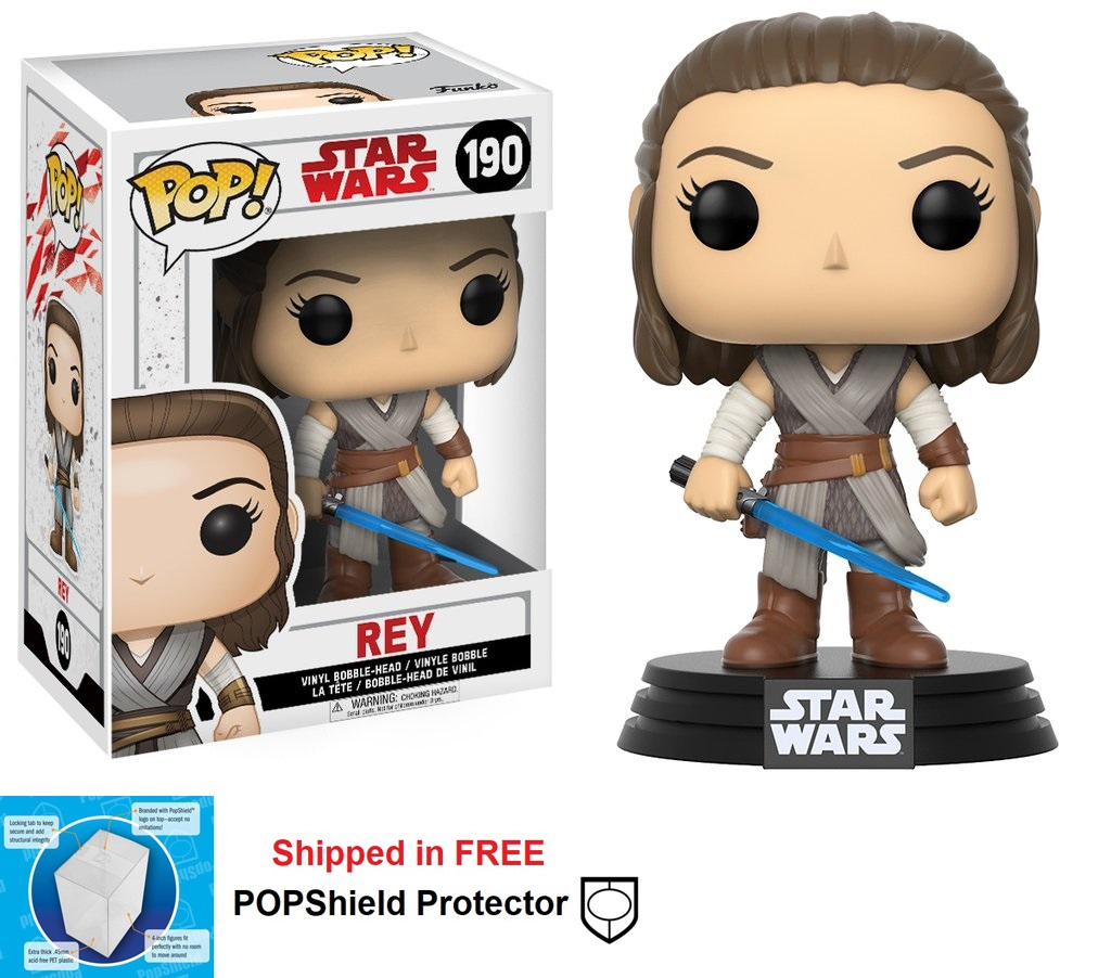 Funko POP Star Wars Rey Figure - #190
