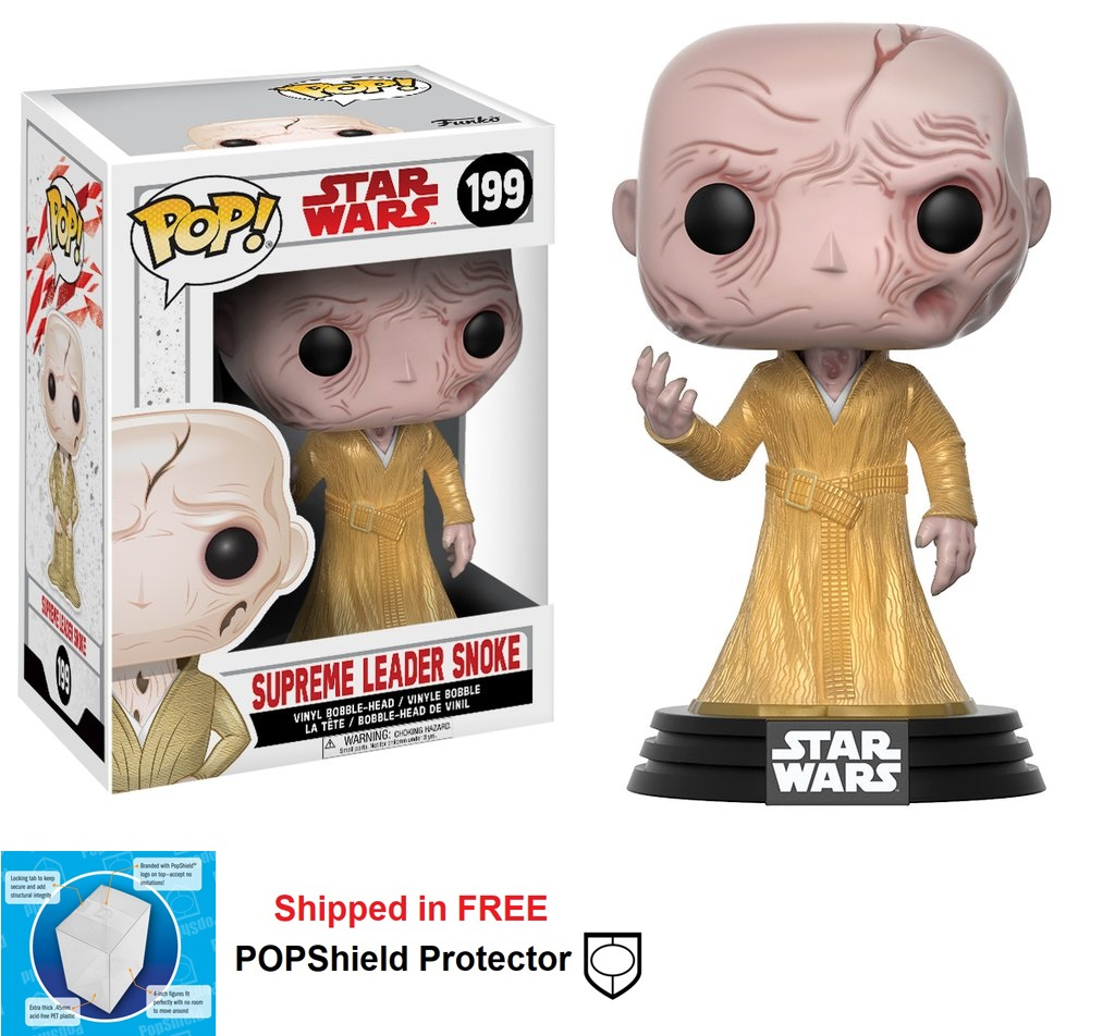 Funko POP Star Wars Supreme Leader Snoke Figure - #199