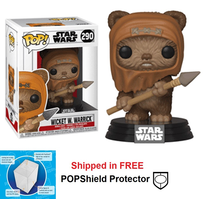 Funko POP Star Wars Wicket W. Warrick Figure - #290