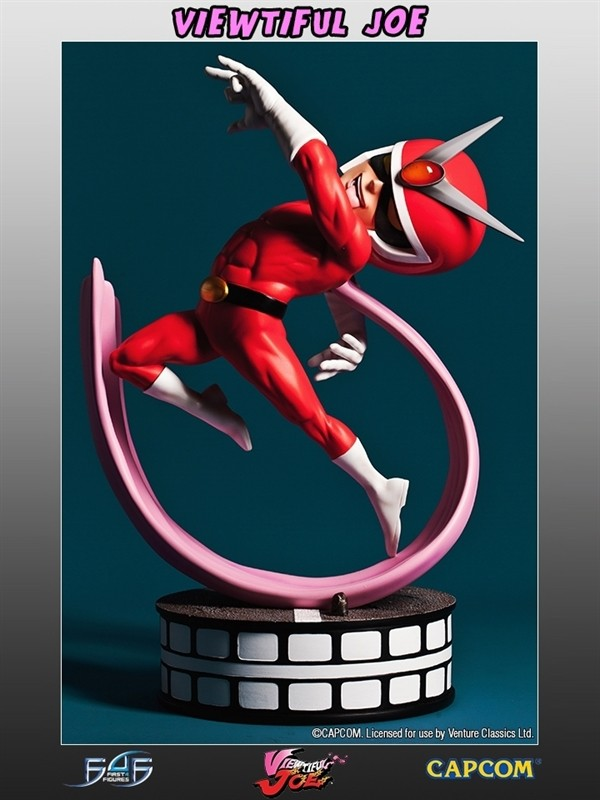 First 4 Figures Capcom All Stars Viewtiful Joe Statue