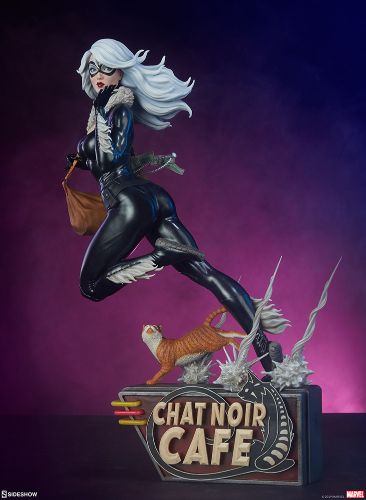 Pre-Order Sideshow Marvel Black Cat Artist Series Statue