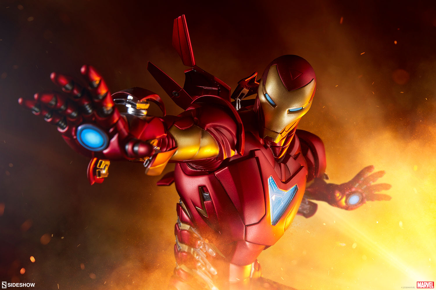 Pre-Order Sideshow Marvel Iron Man Extremis Artist Series Statue