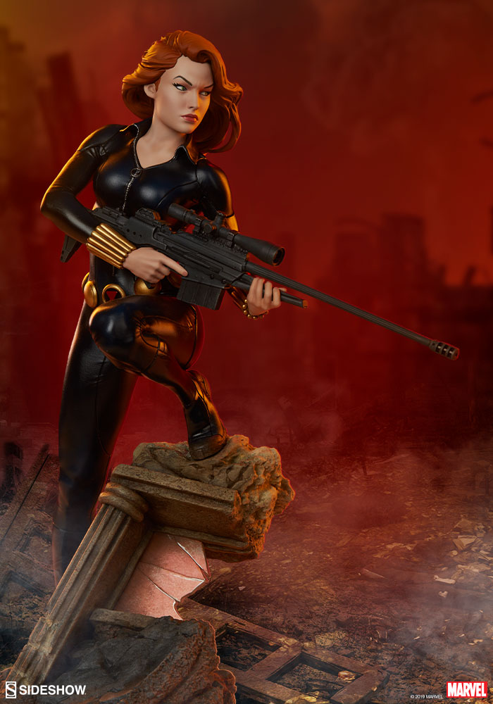 Pre-Order Sideshow Marvel Black Widow Avengers Assemble Statue