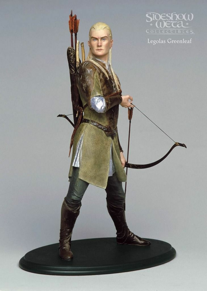 Weta Lord of the Rings Legolas Greenleaf Statue