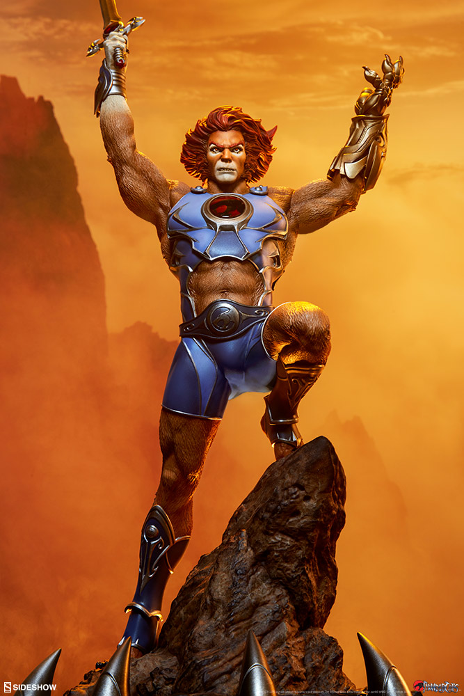 Pre-Order Sideshow Thundercats Lion-O Statue