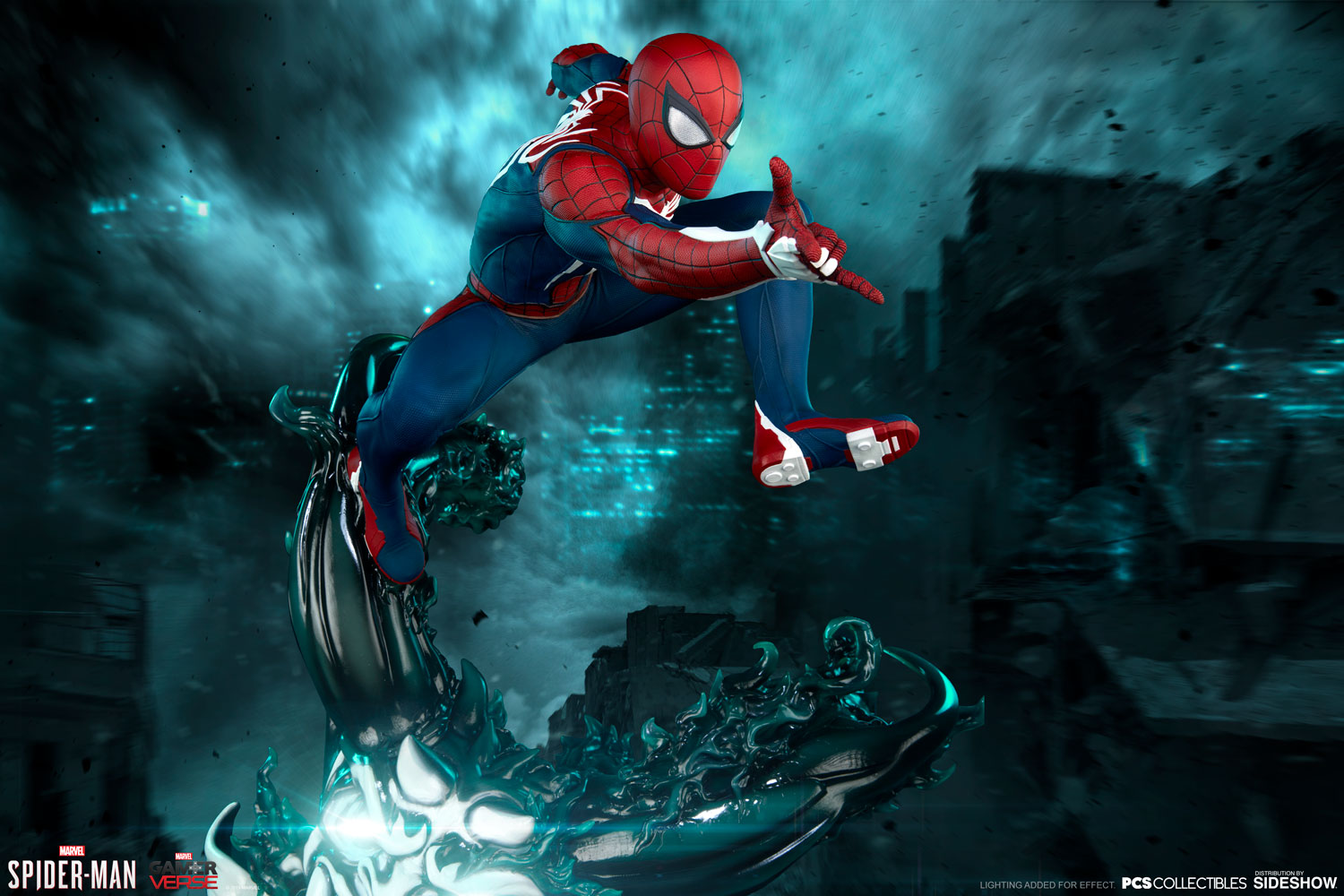 Pre-Order PCS Marvel Spider-Man Advanced Suit 1:3rd Scale Statue